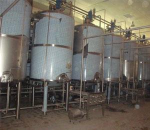 老化罐工艺管线