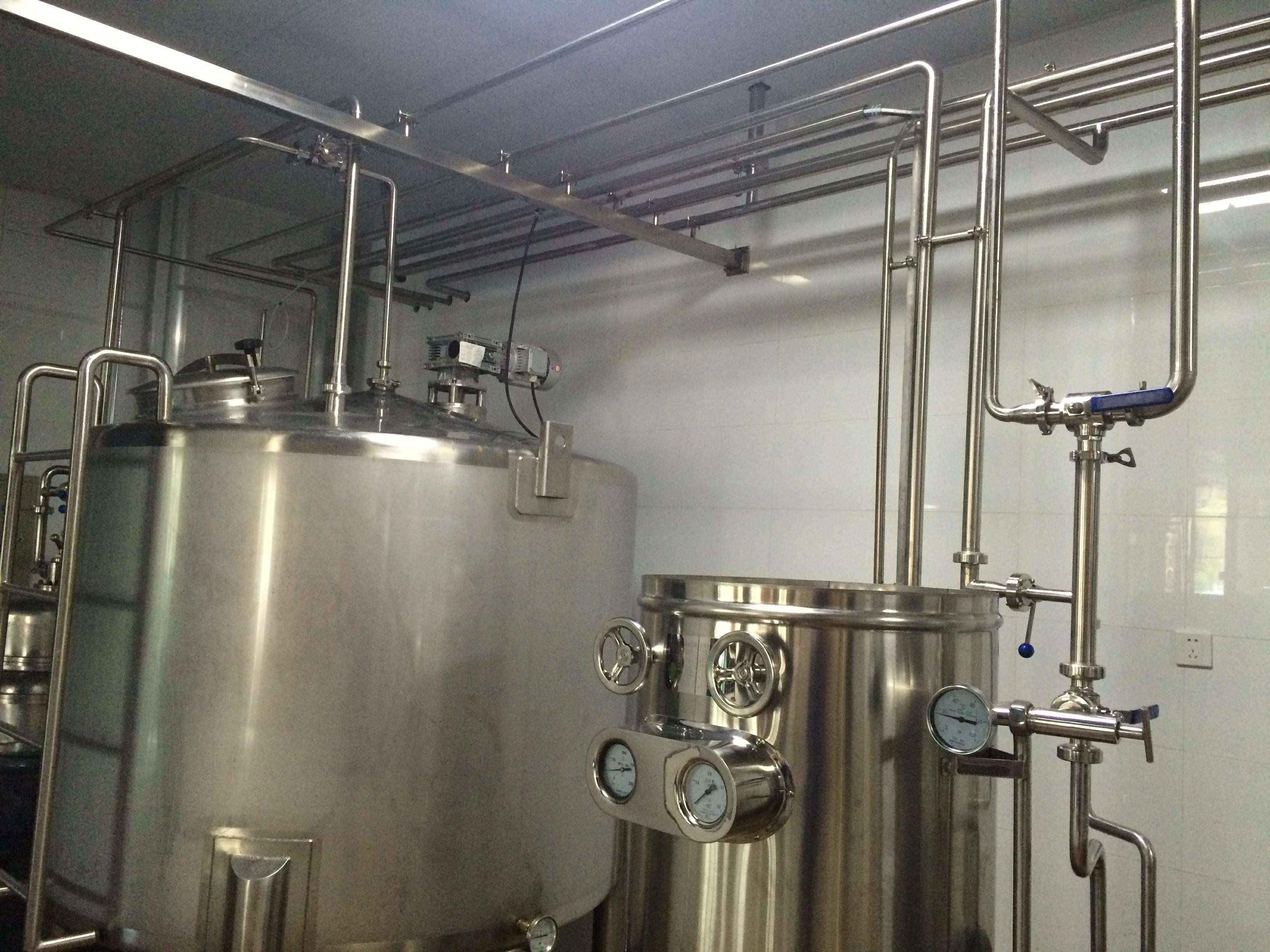 奶吧工艺系统